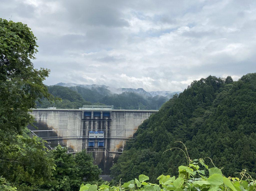 名張青蓮寺湖ダム20200731